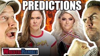 WWE HIAC 2018 PREDICTIONS! | WrestleRamble
