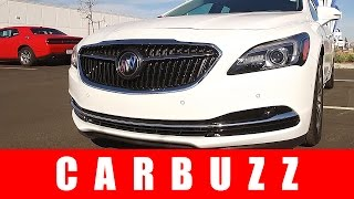 2017 Buick LaCrosse Unboxing - A More Expensive Chevrolet Impala?