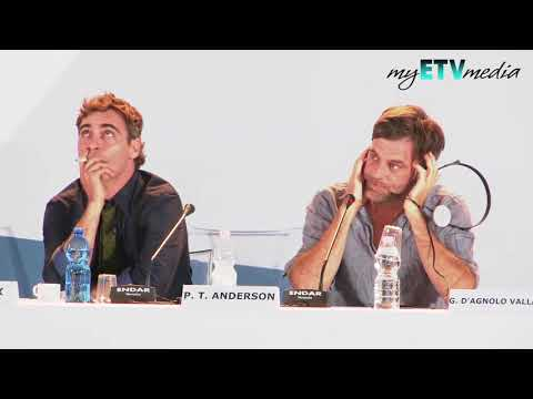 THE MASTER - Paul Thomas Anderson on The Master 69th Venice International Film Festival