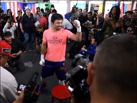 Pacquiao excited to show his best fight at 40