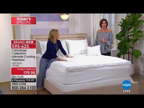 HSN | Concierge Collection Bedding 04.07.2018 - 09 AM