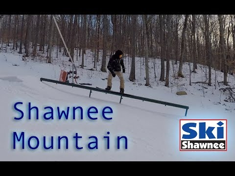 Shawnee Mountain Terrain Park: 2018