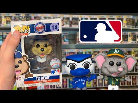 MLB Mascots Funko Pop Hunting