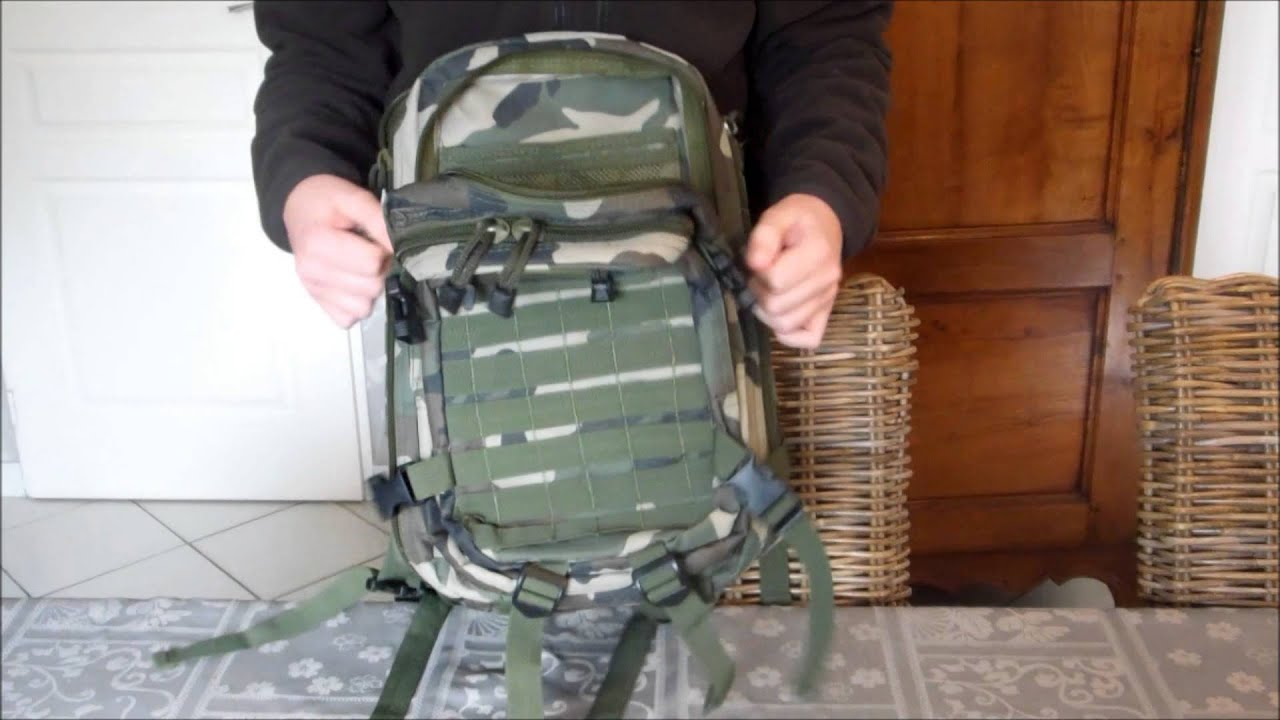 Airsoft Review Sac a dos [swiss arms]  (Présentation-France)