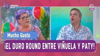 ¡Las razones de Paty para elegir a Pamela Díaz y no a Viñuela! - Mucho gusto 2018