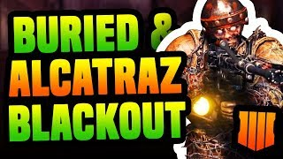 ALCATRAZ, BURIED & VICTIS NO BLACKOUT | BO4 Análise do ZOMBIES no Trailer do Blackout