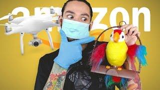 EXPENSIVE DRONES & TALKING BIRDS • AMAZON PRIME TIME