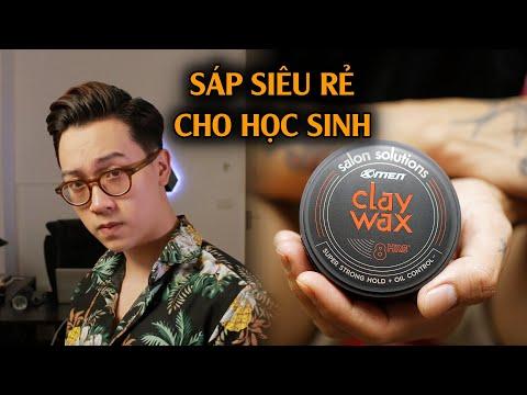 [Review] X Men - Clay Wax || Sáp vuốt tóc nam giá rẻ tốt nhất phân khúc? Huy Quốc