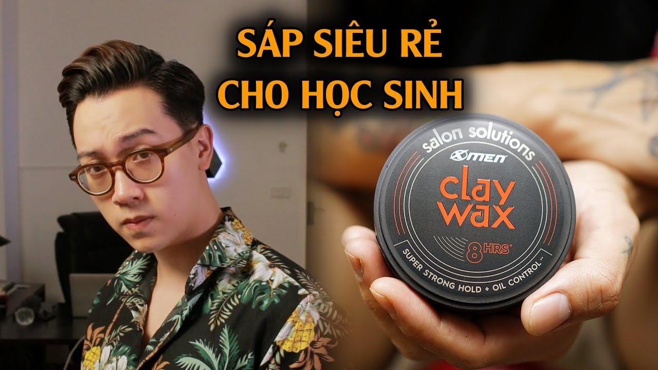 [Review] X Men – Clay Wax || Sáp vuốt tóc nam giá rẻ tốt nhất phân khúc? Huy Quốc | Khái quát các nội dung về keo toc nam dep chi tiết
