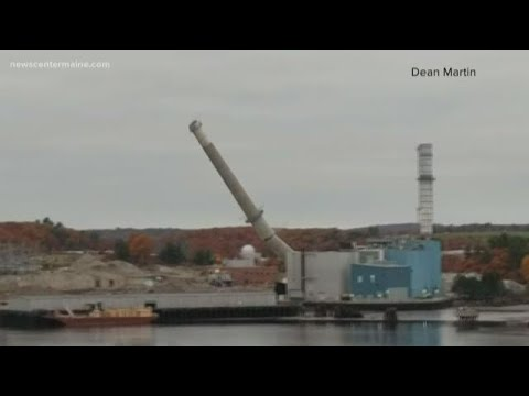 Verso Paper Mill Demolished