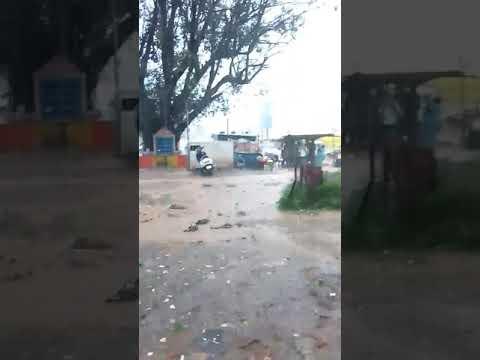 (Hubli)Heavy rains in HUBLI gabbur circle