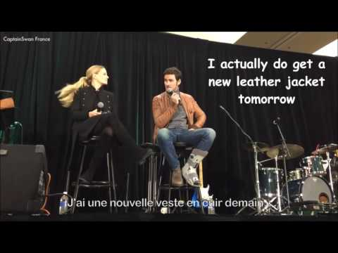 Best of Jennifer MorrisonColin O'Donoghue Colifer Convention OUAT 2017 Vancouver  VOSTFR
