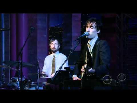 Andrew Bird - Plasticities Live on Letterman
