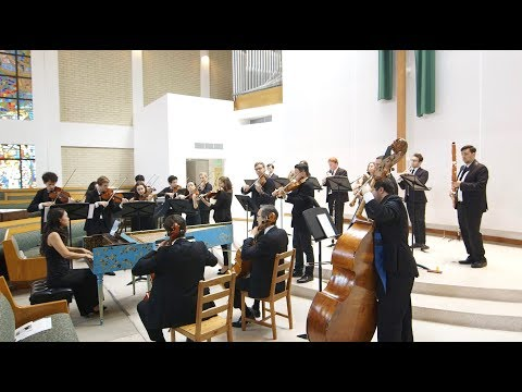 J S Bach: Brandenburg Concerto No 1 in F Major BWV 1046 • Kaleidoscope Chamber Orchestra