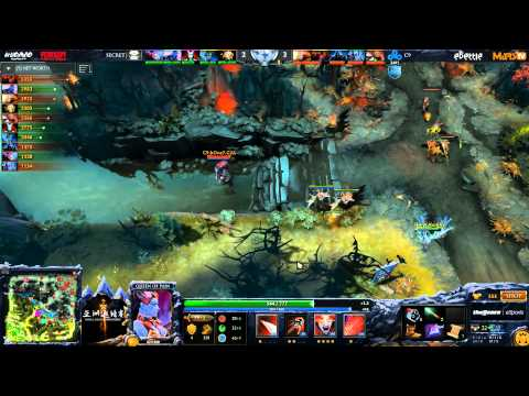 Secret vs C9 - DAC 2015 - LB - SF - G2