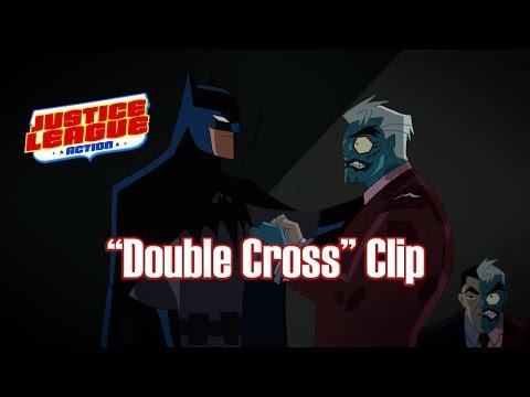 """Justice League Action """"Double Cross"""" Clip"""