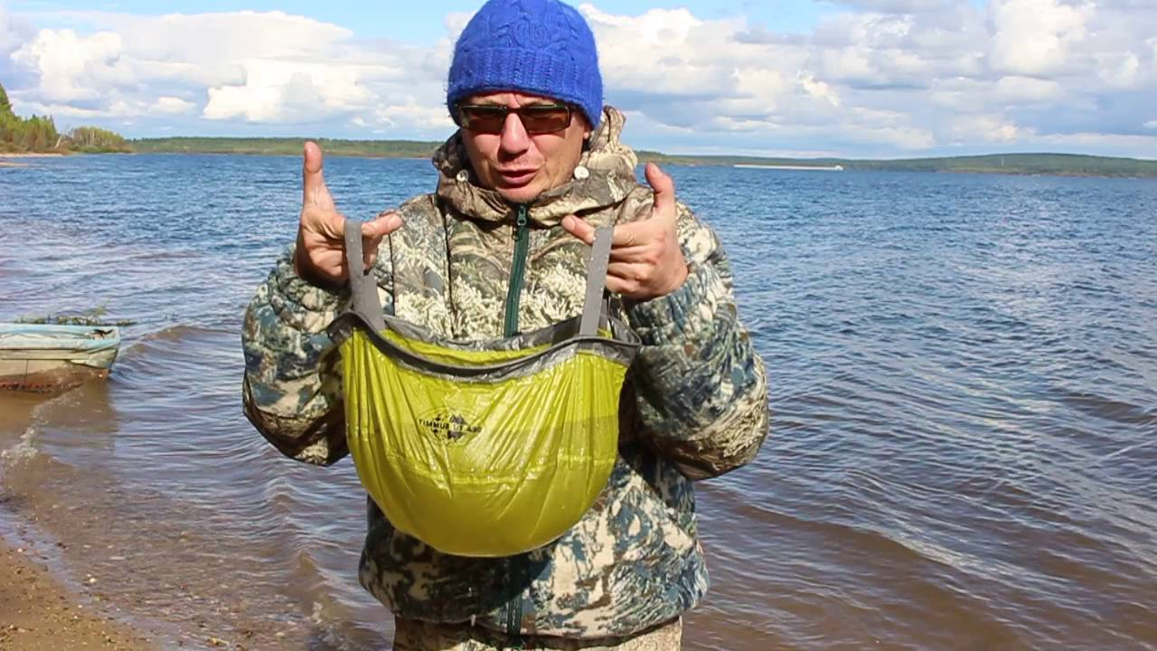 Компактное ведро Sea to Summit Ultra-Sil Kitchen Sink 10л - YouTube