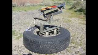 Modified Clay Pigeon Thrower