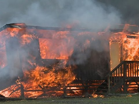 House Ablaze