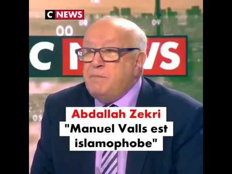 """""""Manuel Valls est un islamophobe ! [ ... ] un (pro) Franco !"""" Abdellah Zekri"""