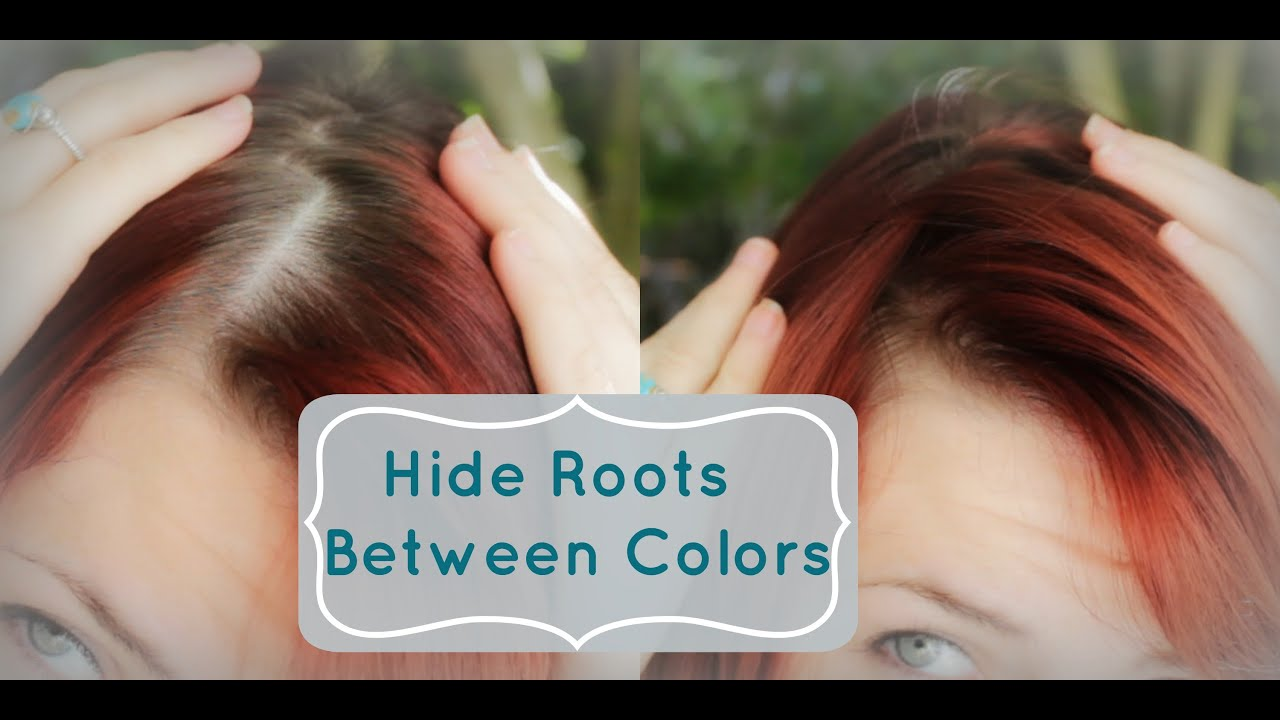 Hide Roots Between Hair Colorings Quick Tip Tuesday YouTube