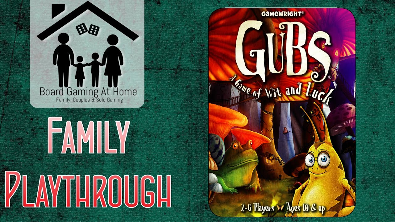 Gubs Family Playthrough (Card Game Gameplay Overview, Runthrough & Review)