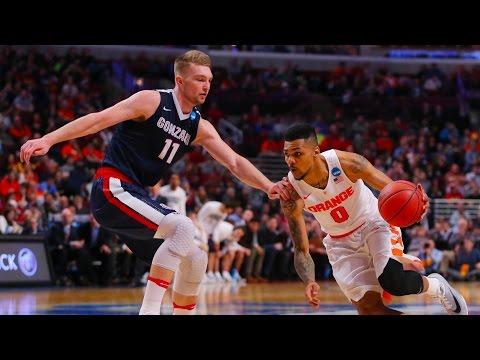 Gonzaga vs. Syracuse: Cuse moving on
