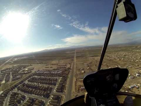 37 Minutes of a helicopter flight over Tucson with audio and commentary