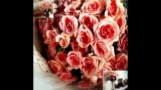 Как сделать свадебный букет? Букет из кустовой розы! wedding bouquet of roses Bush with their hands!