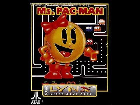 Ms Pacman Pretzel Start Atari Lynx Youtube