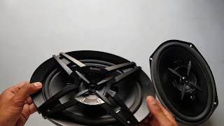 Sony XS-FB693E 3-Way Coaxial Car Speaker. full review.car back speaker