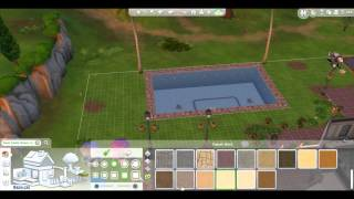 The Sims 4 Gameplay Part 51 Pool Update, Holy Cow We're Getting A Huge New Pool | CadenYurk