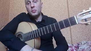 Красивая мелодия на гитаре.Урок