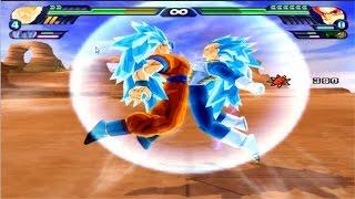 Dragon Ball Z Budokai Tenkaichi 3 - Goku SSG Blue 3  And Vegeta SSG Blue 3 VS MODS ALEARTORIOS #10