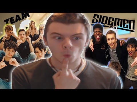 Sidemen or Team 10 | Q&A with D1ZZY DUDE