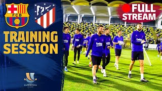 FULL STREAM: Training session ahead of Spanish Super Cup!