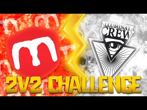 MELAGOODO vs ILLUMINATI | 2v2 Soccer Challenge