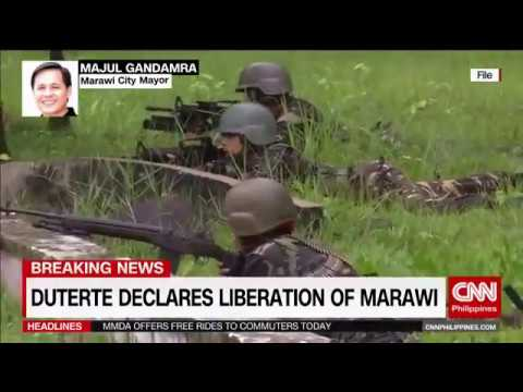 MAUTE INSPIRED ISIS VS. PHILIPPINE ARMY WAR IN THE PHILIPPINES WAS OVER