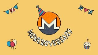 "Monero's 5th ""Moneroversary"" Showcase"