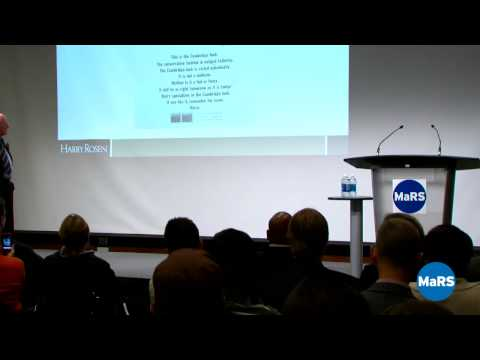 """Creating Customers for Life"" with Harry Rosen - Entrepreneurship 101 2009/10"