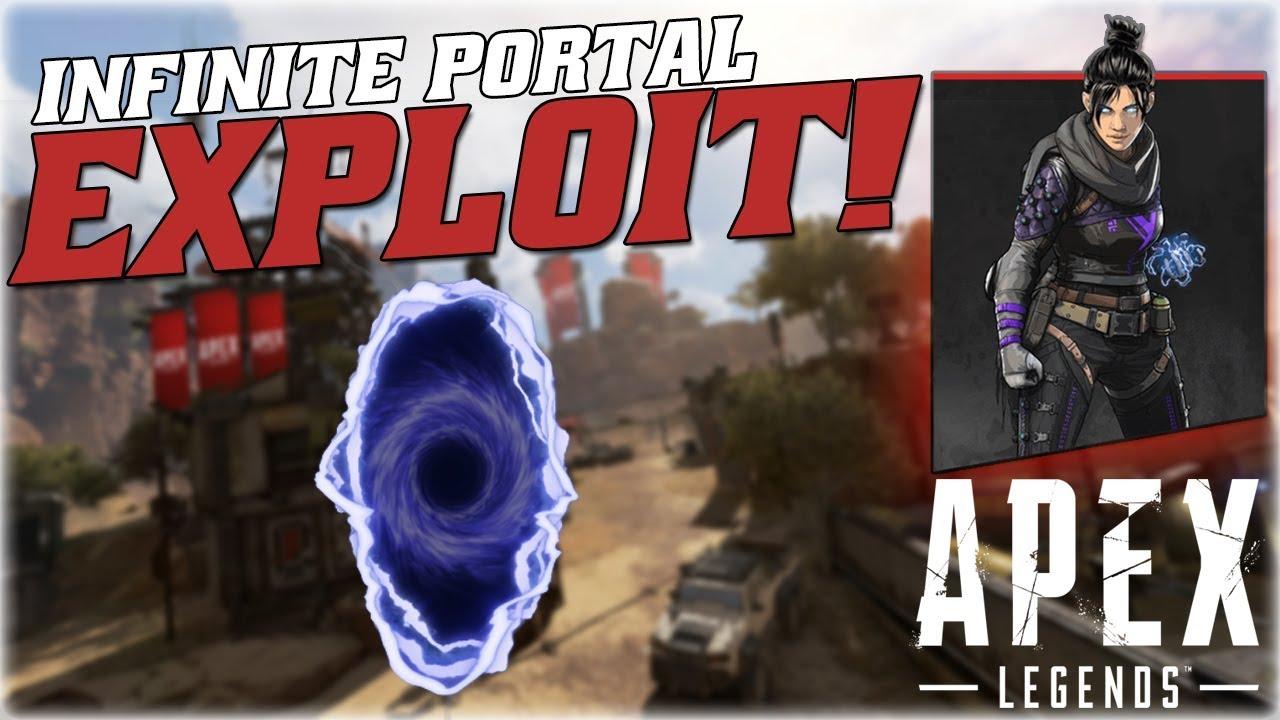 GAME BREAKING INFINITE PORTAL GLITCH!!! (APEX LEGENDS TIPS & TRICKS!) [XB1, PS4, PC]