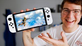 So viel besser: Nintendo Switch OLED Unboxing!
