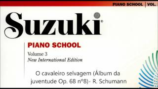 Suzuki Piano School - Livro 3- New International Edition