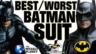 The Best & Worst BATMAN Suits!
