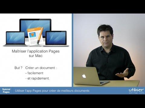 Utiliser l'app Pages pour créer de meilleurs documents