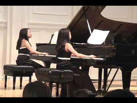 Mozart Sonata In D Major For Two Pianos, K.448, I. Allegro Con Spirito
