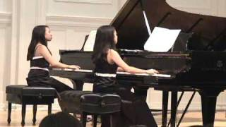Mozart Sonata in D Major for Two Pianos, K.448, I. Allegro con spirito