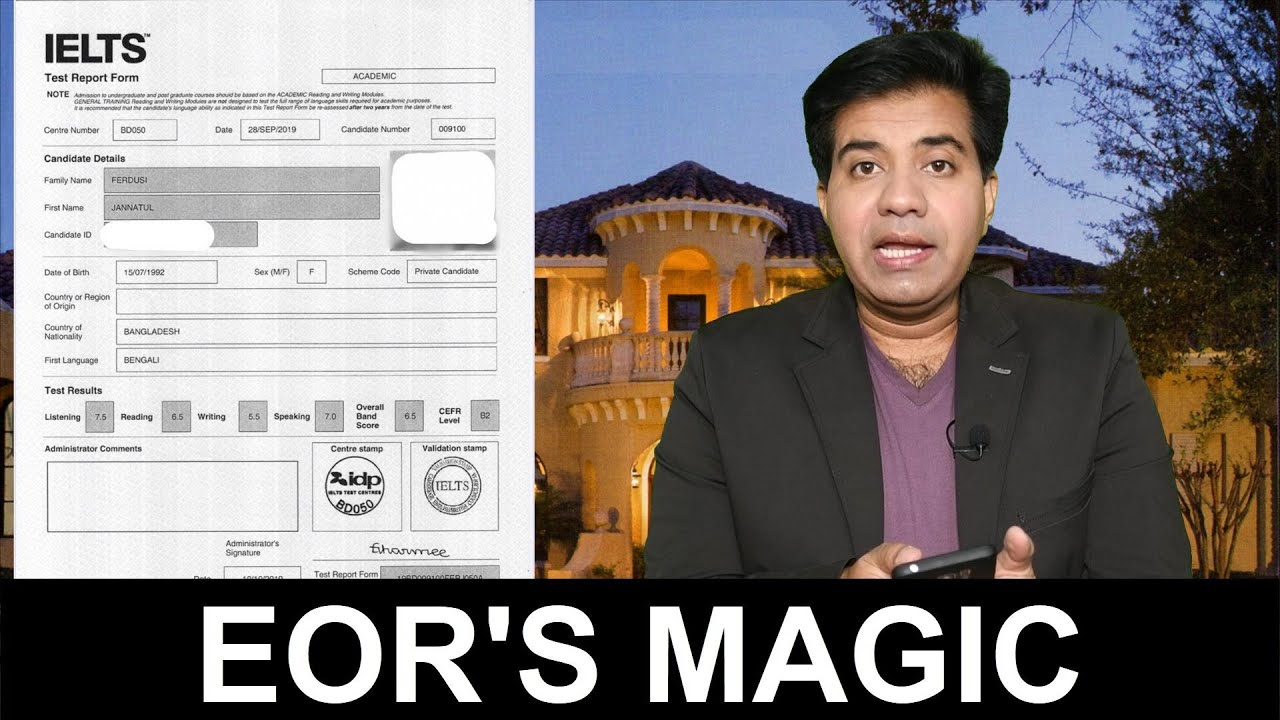 Download EOR'S MAGIC || IF YOU ARE NOT SATISFIED WITH YOUR IELTS RESULT!