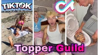 Best Topper Guild TikTok Pranks  | Try Not To Laugh Watching Topper Guild Funny Tik Toks Compilation