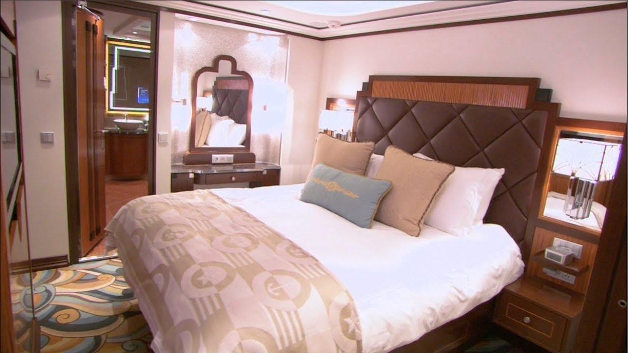 Tour Disney Fantasy Suites Including Walt Suite On Cruise Line